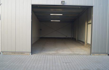 Innenansicht Halle 75 m²