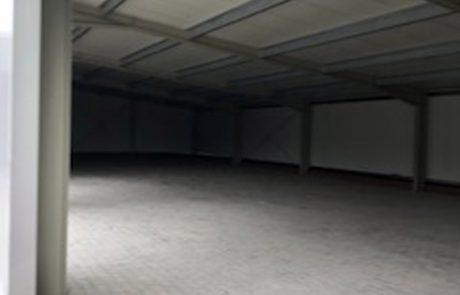 Innenansicht Hallen